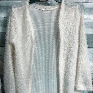 White Faux sweater